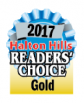 Halton Hills Readers' Choice Gold 2017