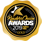 Readers Choice Awards 2019 hHalton Hills GOLD