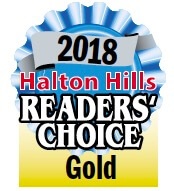 2018 Halton Hills Readers Choice Gold