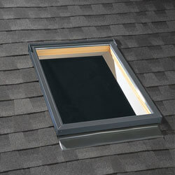 skylight in a roof